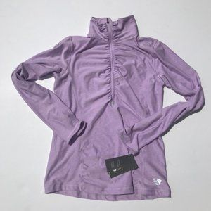 New Balance speed dry quarter zip sweater